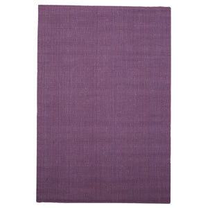 Handwoven Purple Jute Rug