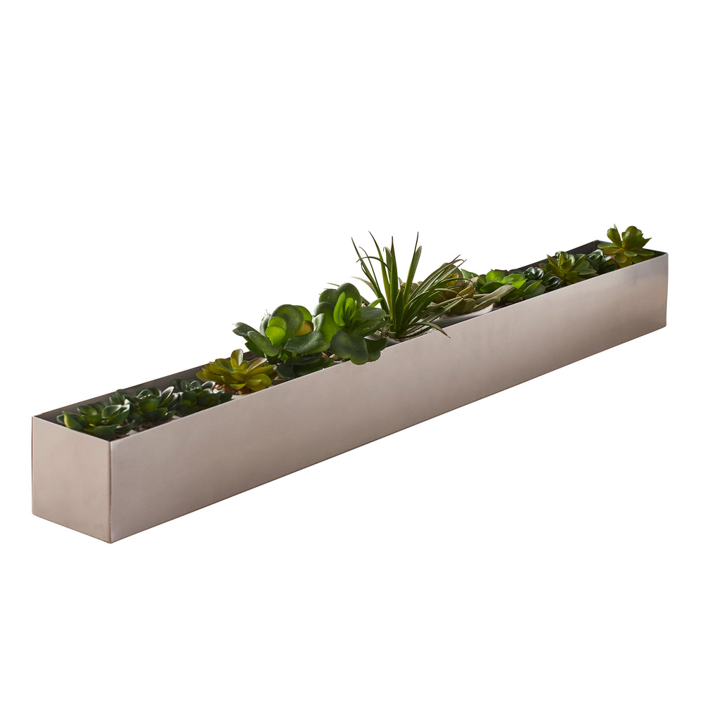 Long Centerpiece Table Plant Holder