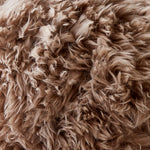 Light Brown Sheepskin Cushion