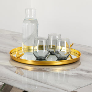 Bird Mirror Tray