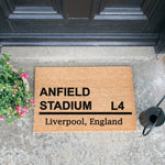 Anfield Stadium Football Doormat