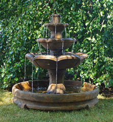 Henri Studio Montreux Three-tier Fountain in Rondo Pool