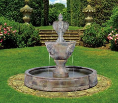 Henri Studio Medium Two-Tier Leonesco Fountains