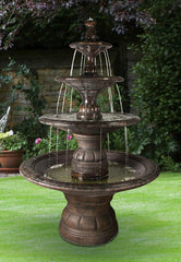 Henri Studio Grande Contemporary Four Tier Fountain