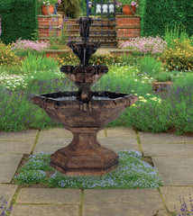 Henri Studio Grande Kensington Three Tier Fountains