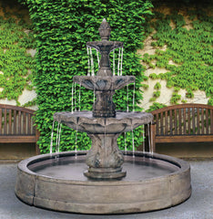Henri Studio Classical Finial Fountains
