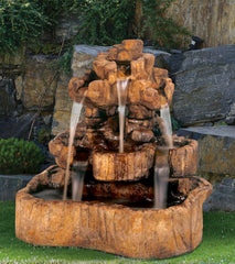 Henri Studio Medium Rock Falls Fountain