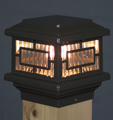 Aurora Orion LED Deck Post Light