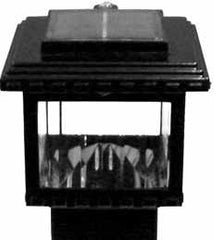 Aurora Mini Polaris Solar LED Deck Post Light