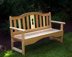 Creekvine Designs Cedar Keyway Garden Bench