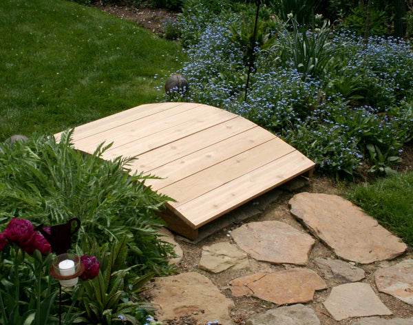 Creekvine Designs 3' Cedar Plank Bridge