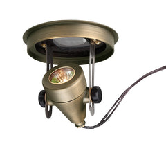 Corona Lighting Brass Well Light Cl-322B