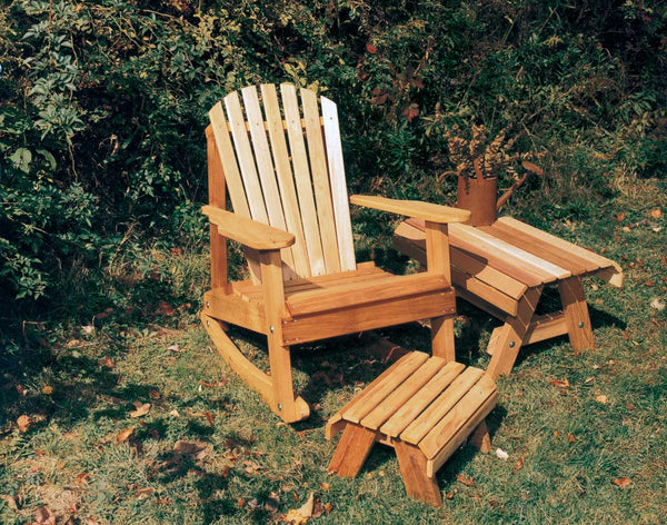 Creekvine Designs Cedar American Forest Adirondack Rocker Collection