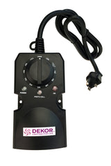 DeKor 8-Pack Dek Dots Recessed Light LED Kit w/ Transformer & Timer