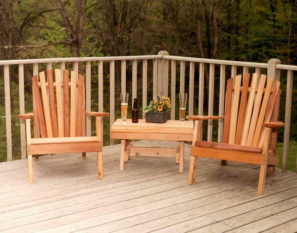 Creekvine Designs Cedar American Forest Adirondack Chair Collection