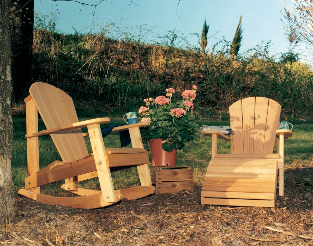 Creekvine Designs Cedar Adirondack Collection