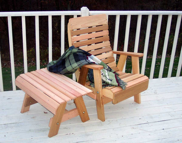 Creekvine Designs Cedar Twin Ponds Chair & Table Set