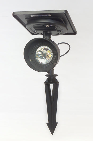 Gama Sonic Progressive LED Solar Spotlight, GS-103