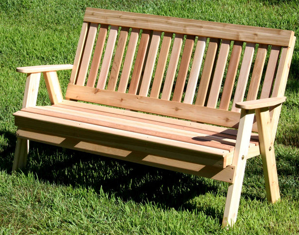 Creekvine Designs Cedar Countryside Garden Bench