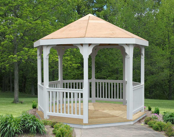 Creekvine Design 10' Vinyl Gazebo