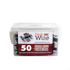 DeckWise Hidden Siding Fastener Kit