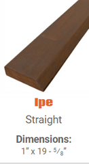 DeckWise Hardwood Deck Tile Ends