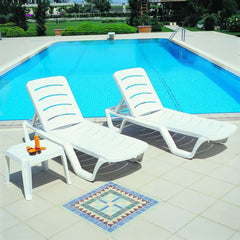 Compamia Sunlight Pool Chaise Lounge 4 Pk