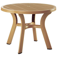 Compamia Truva Resin Round Dining Table 42 Inches