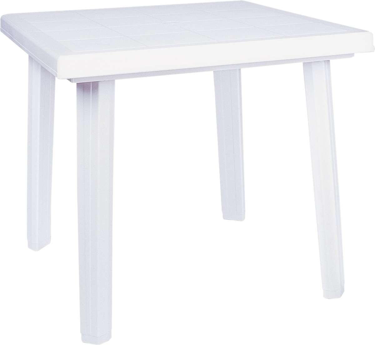 Compamia Cuadra Resin Square Dining Table 31 Inches