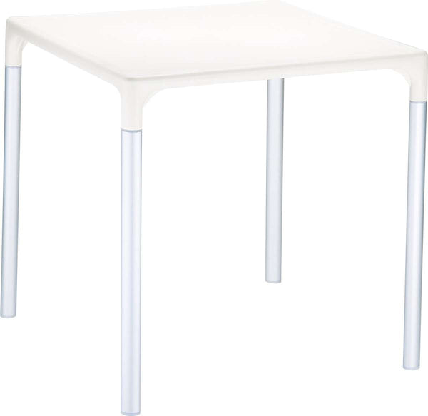 Compamia Mango Alu Square Table 28 Inches