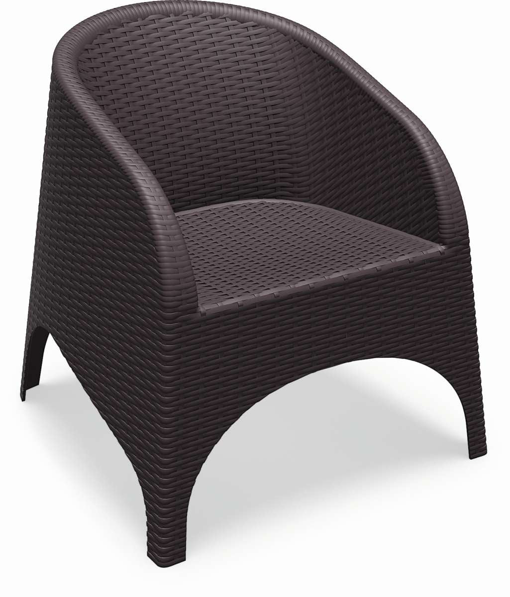 Compamia Aruba Resin Wickerlook Chair 2 Pk