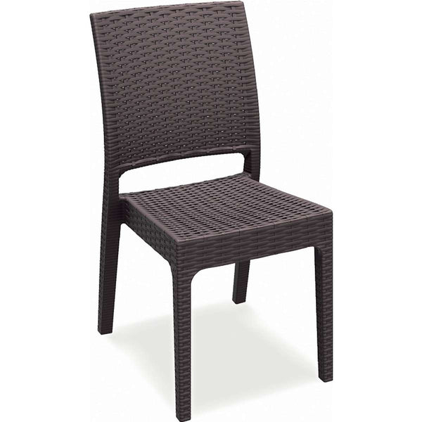 Compamia Florida Resin Wickerlook Dining Chair 2 Pk