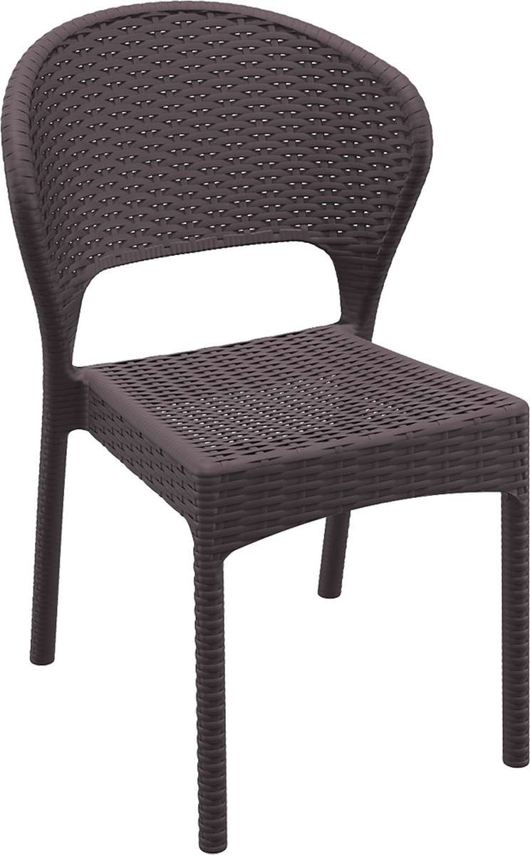 Compamia Dayton Resin Wickerlook Dining Chair 2 Pk