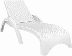 Compamia Miami Resin Wickerlook Chaise Lounge 2 Pk