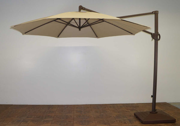 Shade Trends 11Ft Trigger Lift Cantilever Umbrella Single Vent