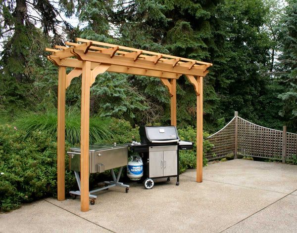 Creekvine Designs Cedar New Dawn Pergola