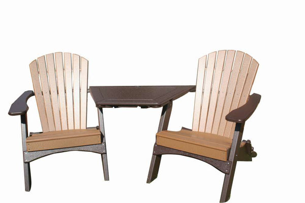 Perfect Choice Furniture Tete-A-Tete Adirondack Table
