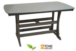 "Perfect Choice Furniture 72"" Bar Height Table"