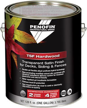Penofin Architectural Grade Transparent Satin Finish, TSF Penetrating Oil Stain