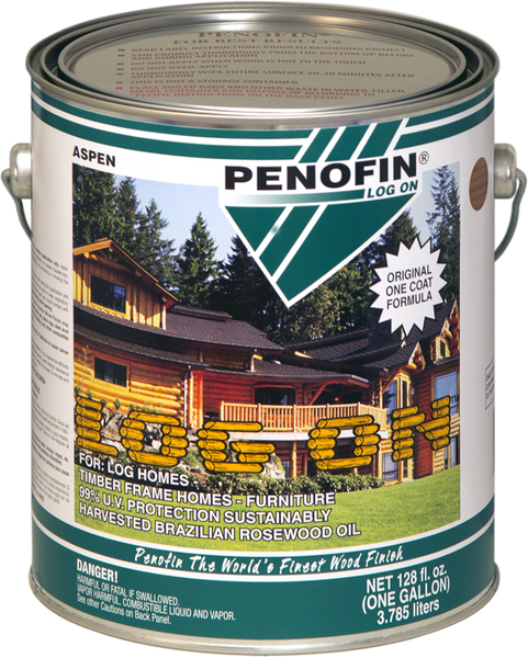 Penofin Log On, Timber Frame Home Penetrating Oil Stain