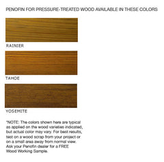 Penofin Pressure Treated, Green Treated Wood Penetrating Oil Stain