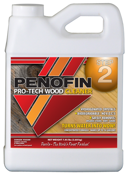 Penofin Pro Tech Wood Cleaner, Step 2
