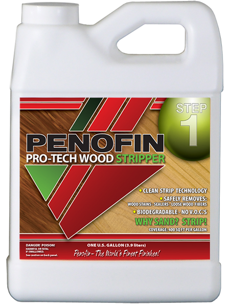Penofin Pro Tech Wood Stripper, Step 1