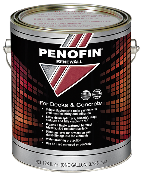 Penofin RenewAll, Restoratative Resin Coating for Decks and Concrete