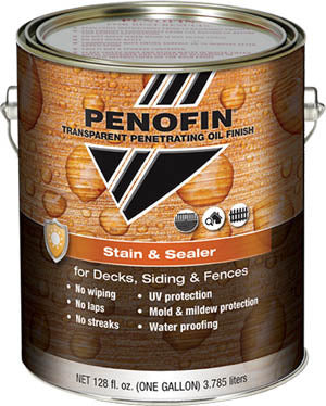 Penofin Stain & Sealer, Penetrating Oil Finish