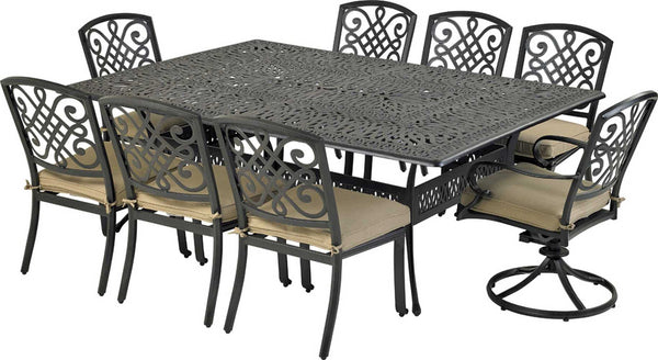 Patio Resort Lifestyles Bridgetown 9 Piece Dining Set