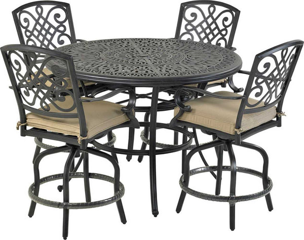 Patio Resort Lifestyles Bridgetown 5 Piece Counter Set