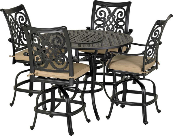 Patio Resort Lifestyles Venice 5 Piece Counter Set