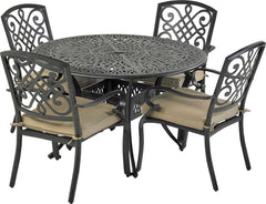 Patio Resort Lifestyles Bridgetown 5 Piece Dining Set