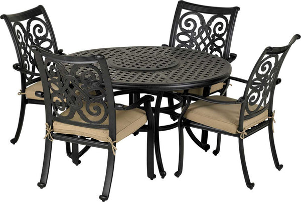 Patio Resort Lifestyles Venice 5 Piece Dining Set